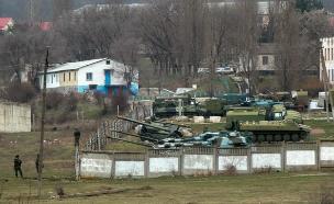 קייב חוששת ממתקפה רוסית קרבה (צילום: רויטרס)