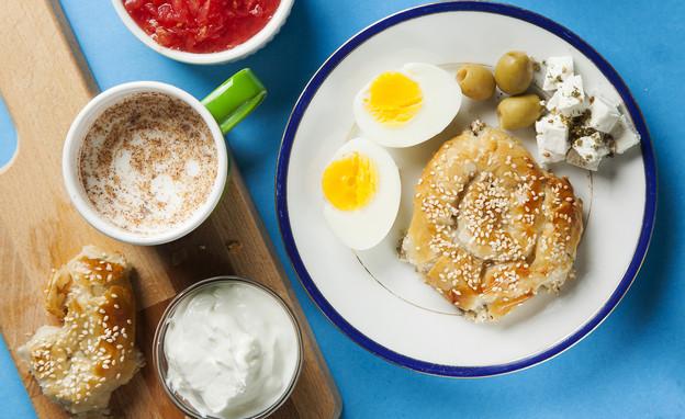 שבלולי גבינה ופטריות (צילום: אפיק גבאי, מועצת החלב)