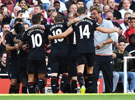 לא לבעלי לב חלש. ליברפול חגגה בתום משחק משוגע (getty) (צילום: ספורט 5)