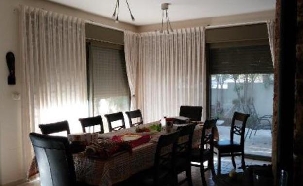 עינב גלילי, פינת אוכל, לפני, צילום ביתי (צילום: אביב קורט)