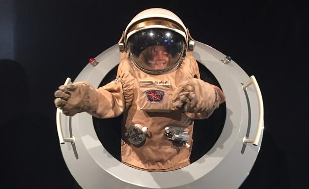 אולי עוד תהיה אסטרונאוטית (צילום: צילום ביתי)