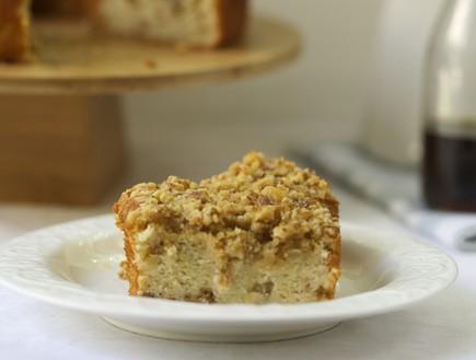 עוגת מייפל יוגורט אגוזים