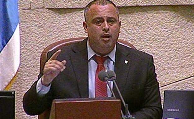 """ח""""כ חיליק בר (צילום: ערוץ הכנסת)"""