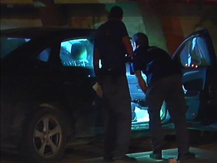 הרכב שבו נורתה הירש למוות