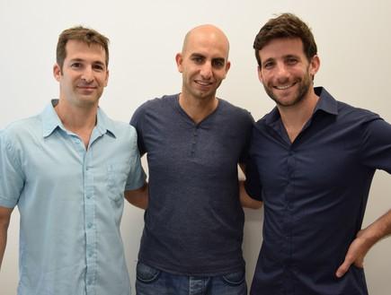 טל חורב, גלעד ארדיטי ואיתי מטלון (יח``צ: התאחדות הסטודנטים והסטודנטיות בישראל)