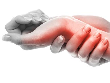 כאב בשורש כף היד