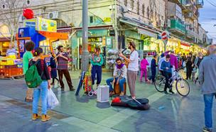 רחוב בירושלים (צילום: eFesenko, Shutterstock)