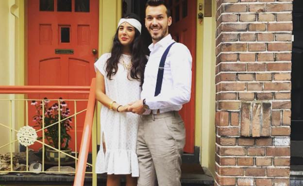 תמרה אהרוני התחתנה, אוגוסט 2016
