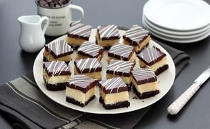 קוביות שוקולד קוקוס (צילום: ענבל לביא, אוכל טוב)