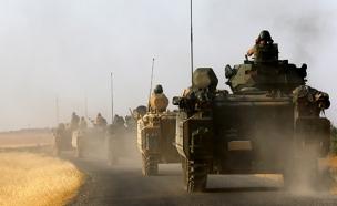 הכוחות הטורקים, אתמול (צילום: רויטרס)
