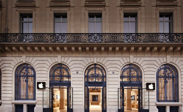 פריז (צילום: apple)