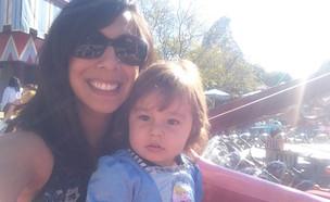 אמברוזיה ברודי ובתה (צילום:  Photo by Flash90)