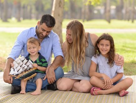 רוני, שרון, מיקי וטל (צילום: חיים אפריאט)