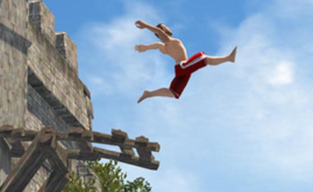 המשחק Flip Diving, שכבש את החנות של אפל