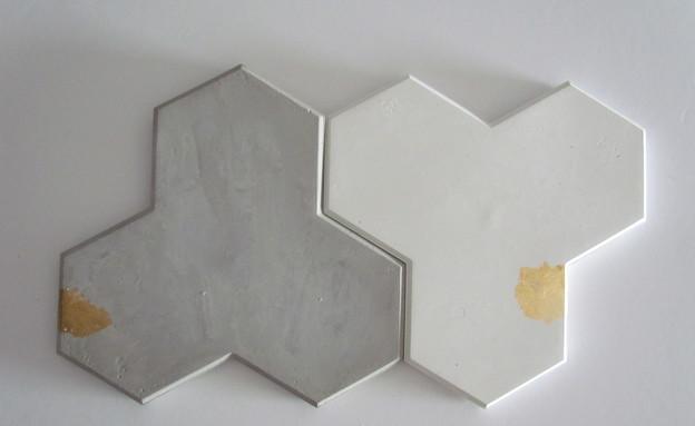 מיה וענבל 02_משטחי בטון לסירים חמים של בוטיק בטון (צילום: שמרית כספי)