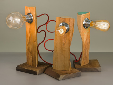 מיכלויטל04_מנורות מחומרים ממוחזרים של נגריא