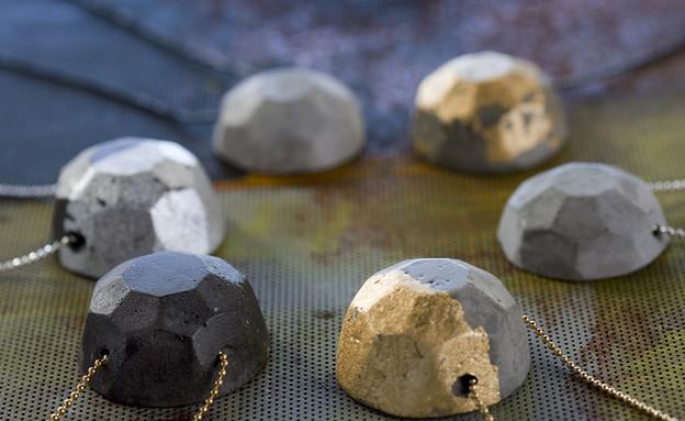 """דלית05_שרשאות בטון של Baara Jewlery,  (צילום: מיכל קדרי, """"סטיילינג פוגש מצלמה"""")"""
