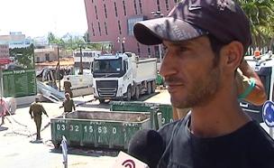 רפעת דוואבשה, קרוב משפחתו של אחד הנעדרים באסון (צילום: חדשות 2)