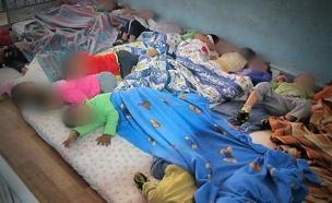 מחסני ילדים, ילדי עובדים זרים (צילום: חדשות 2)