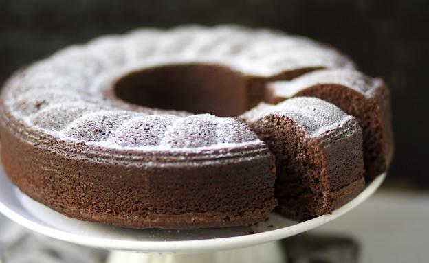 עוגת נוטלה קפה (צילום: קרן אגם, אוכל טוב)