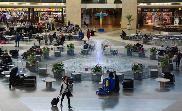 נמל התעופה בן גוריון (צילום: Elena Dijour, Shutterstock)