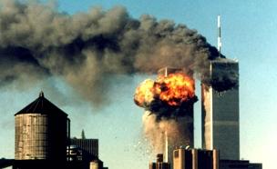 הפיגוע במגדלי התאומים (צילום: רויטרס)