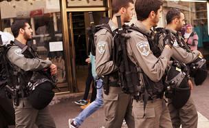 שוטרים בירושלים (צילום: Spencer Platt, GettyImages IL)
