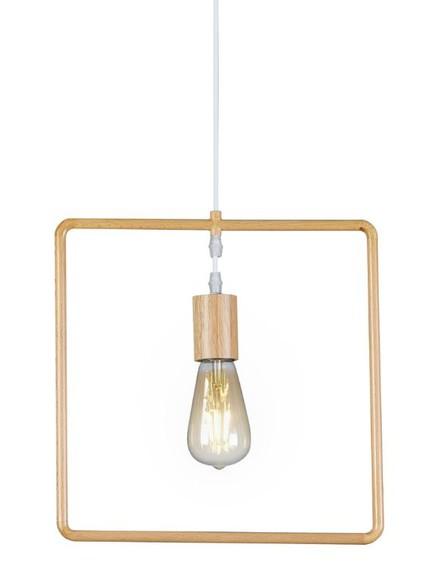 מנורת תלייה אקוויטי ריבוע (צילום: ישראל כהן)