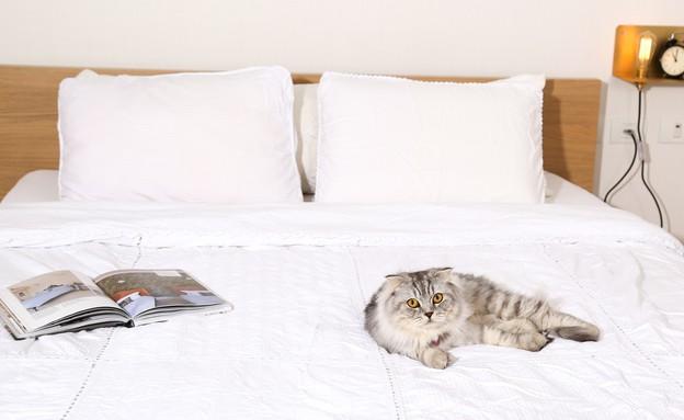 מרב שדה, חדר שינה הורים (צילום: איקו פרנקו)