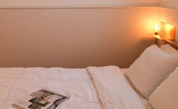 מרב שדה, טפט כמעט לא מורגש אבל הגוון שלו פשוט הופך את החדר לנעים (צילום: איקו פרנקו)