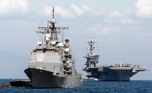 תקרית במפרץ הפרסי. חיל הים האמריקני, ארכיון (צילום: רויטרס)