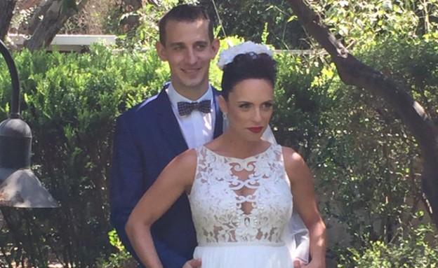 איתי וולך התחתן, ספטמבר 2015 (צילום: צילום פרטי)