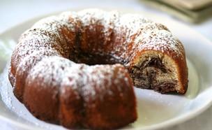 עוגת שיש שוקולד חמאת בוטנים (צילום: קרן אגם, אוכל טוב)