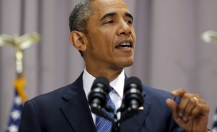 """ברק שיבח את אובמה: """"נתן המון"""" (צילום: רויטרס)"""