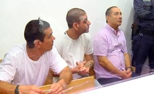 מאיר אברג'יל, איציק אברג'יל ומוטי חסין (צילום: חדשות 2)