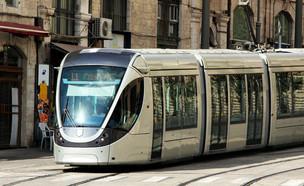 הרכבת הקלה בירושלים (צילום: Shutterstock)