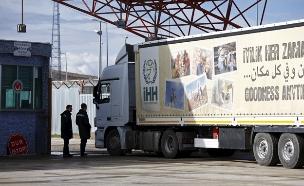 משלוחי סיוע בסוריה (צילום: רויטרס)