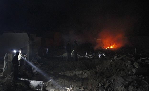 הריסות, סוריה, (צילום: רויטרס)