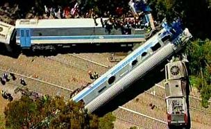התאונה בבית יהושע, יוני 2006 (צילום: חדשות 2)
