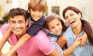 משפחה מאושרת (אילוסטרציה: thinkstock)