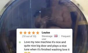 ביקורת מכונת כביסה (צילום: טוויטר)