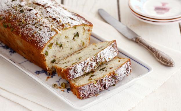 עוגת פיסטוק ולימון (צילום: נטלי לוין, אוכל טוב)