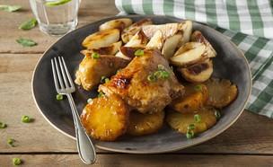 שוקי עוף ברוטב צ׳ילי מתוק ואננס  (צילום: אפיק גבאי, אוכל טוב)
