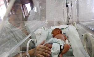 יותר מ-20 אלף לידות השנה (צילום: רויטרס)