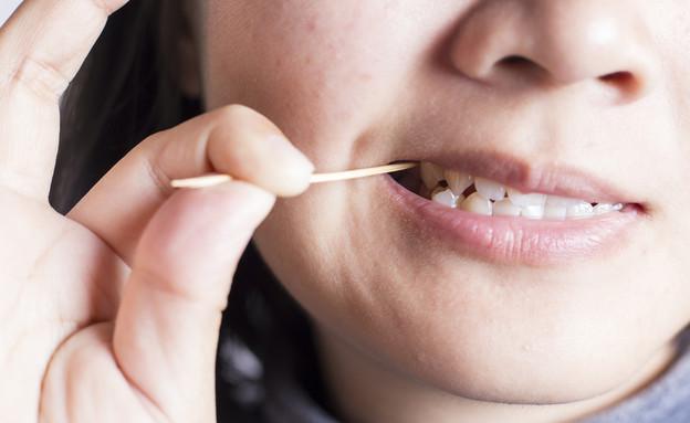 קיסם שיניים (צילום: CHAjAMP, Shutterstock)