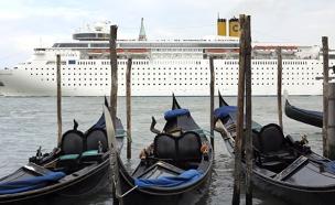 צפו מבחאה יוצאת הדופן בוונציה (צילום: רויטרס)