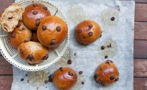 לחמניות שוקולד מתוקות (צילום: בני גם זו לטובה, אוכל טוב)