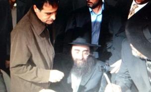 הרב פינטו וברכה (צילום: חדשות 2)