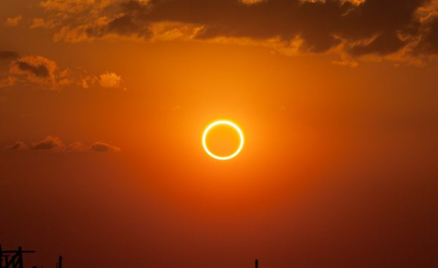 ליקוי חמה טבעתי (צילום: ויקיפדיה)