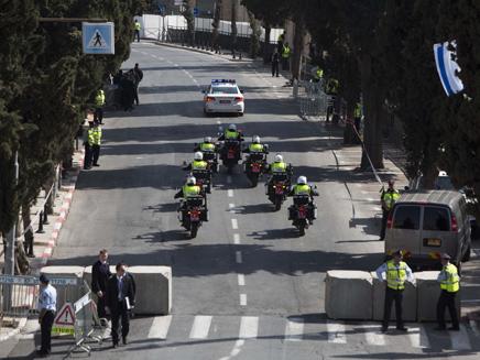 7000 שוטרים יאבטחו את הקהל